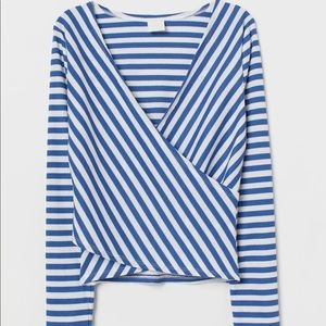 NWT Striped Blouse